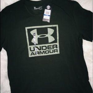 Under Armour OLIVE short sleeve men's shirt XL & M